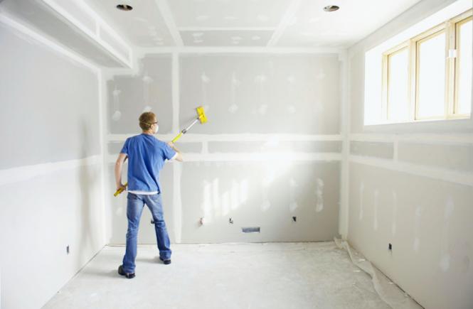 Как-да-фугираме-и-шпакловаме-стените-от-гипсокартон